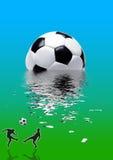 fotbollsportar stock illustrationer