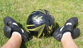 fotbollsspelare Arkivbild