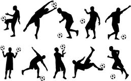 fotbollsspelare Royaltyfri Bild