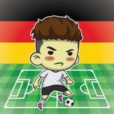 Fotbollsspelare Royaltyfria Foton