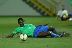 Fotbollsspelare Carlos Daniel Silveira da Graça som är bekant som Kay Fotografering för Bildbyråer