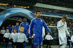 Fotbollsspelare för FC Chelsea Royaltyfri Foto