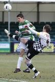fotbollsspelarefotboll fotografering för bildbyråer