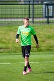 FotbollsspelareThorgan fara i klänning av Borussia Monchengladbach Royaltyfria Foton