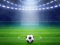 Fotbollstadion Arkivfoto