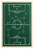 Fotbollstrategi Royaltyfria Bilder