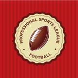 Fotbollsymbol Arkivfoto