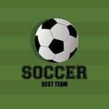 Fotbollsymbol Fotografering för Bildbyråer