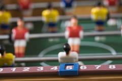 fotbolltabletop Arkivbilder