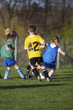 fotbollungdom arkivbilder