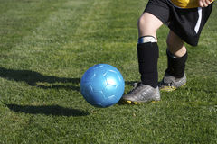 fotbollungdom arkivfoton