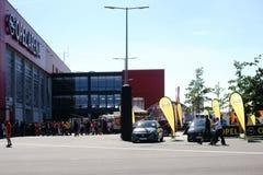 Fotbollvänskapsmatchlek FSV Mainz 05 Royaltyfri Bild