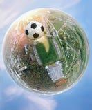 Fotbollvärlden Arkivfoto