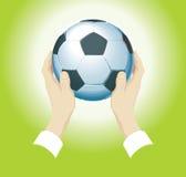 fotbollvektor vektor illustrationer