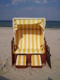 fotel na plaży Fotografia Stock