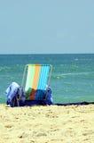 fotel na plaży Obraz Stock