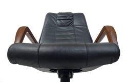 fotel szefa z makietą Obrazy Royalty Free