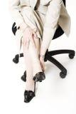 foten smärtar Royaltyfri Foto