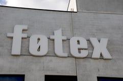 FOTEX sklepu spożywczego logo Obrazy Stock