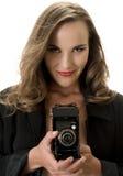 Fotógrafo atractivo Fotos de archivo libres de regalías