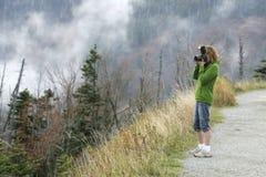 Fotógrafo da natureza Foto de Stock