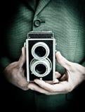 Fotógrafo retro Imagen de archivo