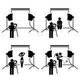 Fotógrafo Studio Photography Fotografía de archivo