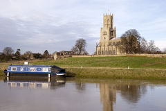 Fotheringhay Church Stock Photography