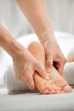 Fotmassage Royaltyfri Fotografi