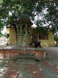 Fotmoment av bhagwan swaminarayan arkivbild