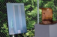foto 911 en straal van het handelscentrum Royalty-vrije Stock Afbeelding