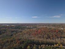 Foto aérea da paisagem de Gerogia foto de stock