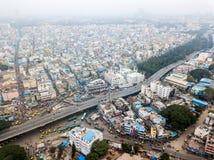 Foto aérea de Bangalore en la India fotografía de archivo libre de regalías