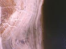Foto aérea 1 de Embalse de Pedrezuela imagem de stock royalty free