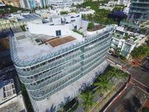 Foto aérea de Marea Miami Beach Fotografía de archivo