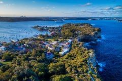 Foto aérea de Sydney fotos de stock