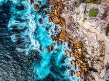 Foto aérea de Sydney - Diamond Bay imágenes de archivo libres de regalías