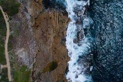 Foto aérea de Sydney imagens de stock