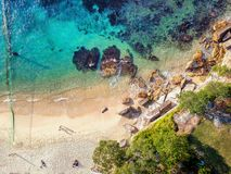 Foto aérea de Sydney fotografía de archivo libre de regalías