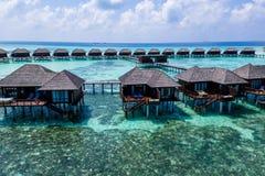 Foto aérea del abejón - las islas hermosas de Maldivas fotos de archivo libres de regalías