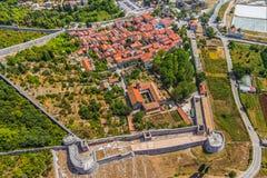 Ston, Croacia imagen de archivo