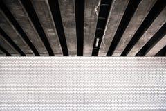 Foto abstracta de algunas tejas y piedra Imágenes de archivo libres de regalías