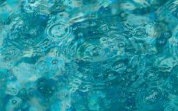 Foto abstracta de burbujas en una piscina Foto de archivo libre de regalías