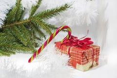 Foto abstracta de la Navidad Fotos de archivo libres de regalías