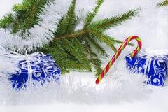 Foto abstracta de la Navidad Imagen de archivo