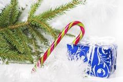 Foto abstracta de la Navidad Imagen de archivo libre de regalías