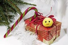 Foto abstracta de la Navidad Fotografía de archivo