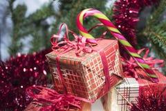 Foto abstracta de la Navidad Foto de archivo libre de regalías