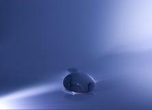 A foto abstrata do teaspoon do metal iluminou Foto de Stock Royalty Free