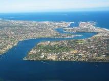 Foto aerea fotografie stock libere da diritti
